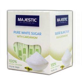 Majestic Pure White Sugar With Cardamom 350Gm