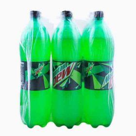 Mountai Dew Carbonated Soft Drink Pet 6 X 2.245Litre
