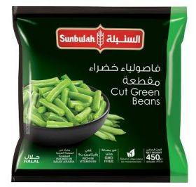 Sunbulah Frozen Cut Green Beans 450Gm