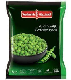 Sunbulah Frozen Garden Peas 900Gm
