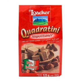 Loacker Quadratini Napolitaner 125Gm