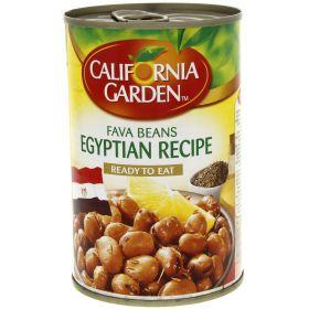 California Garden Fava Beans Egyptian Recipe 450Gm
