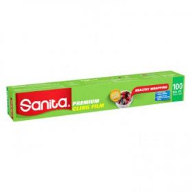 Sanita Premium Cling Film 100 Sqft