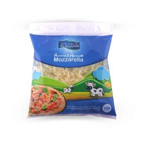 Al Rawabi Mozzarella Cheese (Shredded) 500Gm
