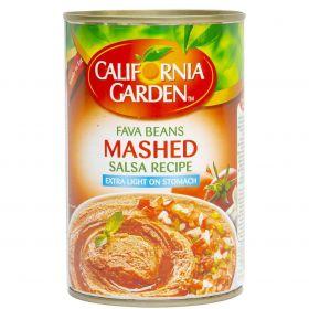 California Garden Fava Beans Mashed Salsa Recipe 450Gm