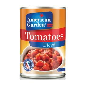 American Garden Tomatoes Diced 411Gm