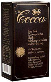 Hintz Fine Dark Cocoa Powder 200Gm