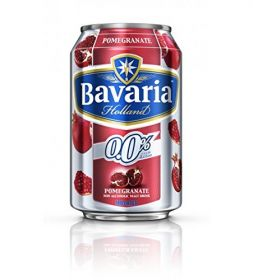 Bavaria Non Alcoholic Malt Drink Pomegranate Flavour 330Ml