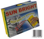 Sun Bright Sponge With Handle No.1 2 Pcs