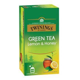 Twinings Green Tea Lemon And Honey 25 Bags
