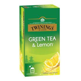 Twinings Green Tea & Lemon Tea Bag 25 Bag