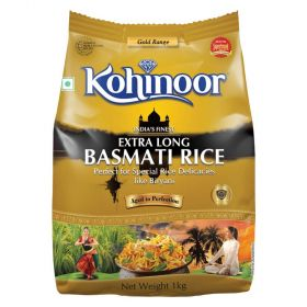 Kohinoor Gold Basmati Rice XL 1Kg