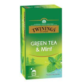 Twinnigs Green Tea & Mint 25 Bag