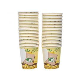 Hot Pack Paper Cup With Handle 50 Pcs