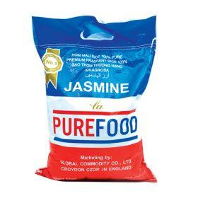 Pure Food Thai Jasmine Rice 5 Kg