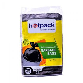 Hot Pack Garbage Bag Light Duty 55 Gallon (80 X 110 Cm)  20 Pcs