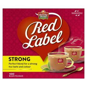 Brooke Bond Red Label Black Tea Bags 100 Tea Bags
