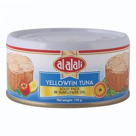 Al Alali Yellowfin Tuna In Sunflower Oil 170Gm