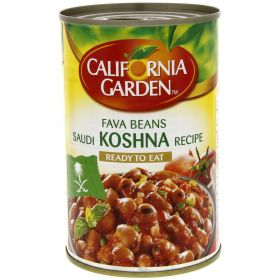 California Garden Fava Beans Saudi Koshna Recipe 450Gm