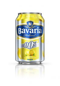 Bavaria Non Alcoholic Malt Drink Lemon Flavour 330Ml