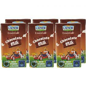 Lacnor Essentials Chocolate Flavoured Milk 6 X 125Ml