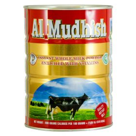 Al Mudhish Instant Whole Milk Powder 900g Tin