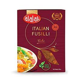Al Alali Italian Macaroni - Fusilli Tricolor 450 Gm