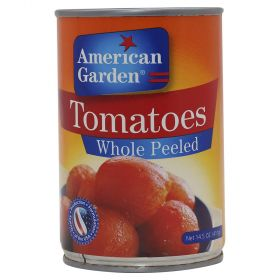 American Garden Tomatoes Whole Peeled 411Gm