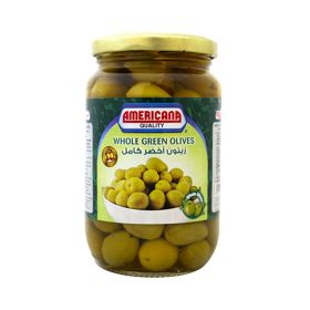 Americana Whole Green Olives 3 x 200GM