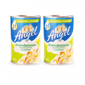 Angel Kremdensada Sweetened Thick Creamer 2 X 410 Ml