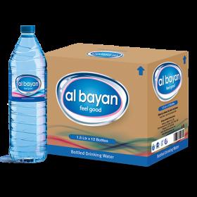 Al Bayan Water 1.5L X 12 Pcs