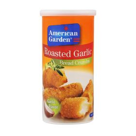American Garden roasted garlic bread crumbs 425 g