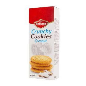Hellema Crunchy Cookies Coconut 175Gm