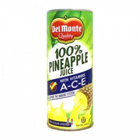 Delmonte 100% Pineapple Juice (No Added Sugar) 240 Ml