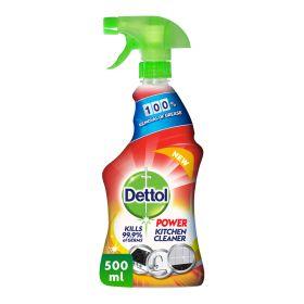 Dettol Power Kitchen Cleaner Spray 500Ml