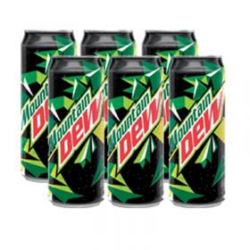 Mountain Dew 325 ml x 6
