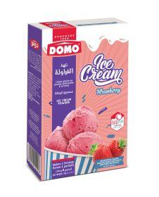 Domo Ice Cream Powder Strawberry 70 Gm