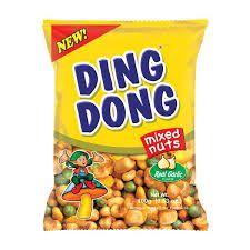 Ding Dong Mixed Nuts (Real Garlic) 100 Gm