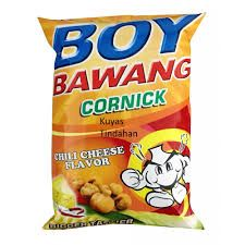 Boy Bawang Cornick Chilli Cheese Flavor 100 Gm