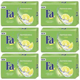 Fa Soap Refreshing Lemon 5 + 1 X 125Gm