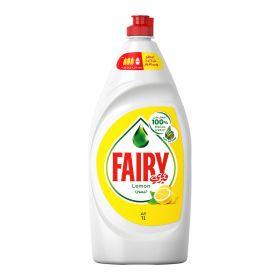 Fairy Lemon Dish Washing Liquid 1 Ltr