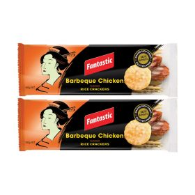 Fantastic Rice Crackers (Barbeque Chicken) 2 x 100 GM