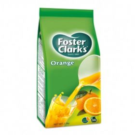 Foster Clarks Instant Drinks Orange Flavour (Pouch) 2.5Kg