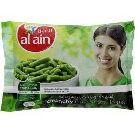 Al Ain Frozen Cut Green Beans 400Gm