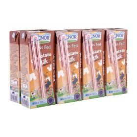 Lacnor Essentials Chocolate Flavoured Milk 8 X 180Ml