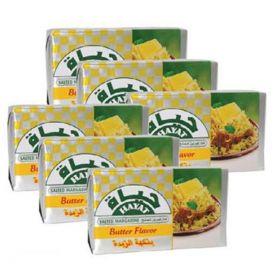 Hayat Salted Margarine 5+1 x 200 Gm