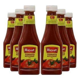 Hayat Tomato Ketchup 6 X 340 Gm