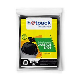 Hot Pack Garbage Bag Light Duty 30 Gallon (65 X 95 Cm)  20 Pcs