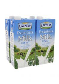 Lacnor Long Life Milk Low Fat 4 X 1Litre