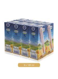 Lacnor Essentials Orange Juice 8 X 180Ml
